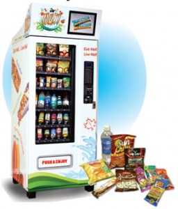 About healthy, fresh vending machines in Ontario, Canada.