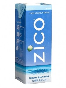 Zico coconut water is a natural flavour water beverage.
