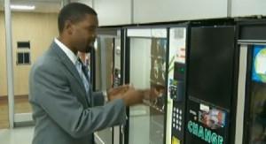 Healthy vending machine news report